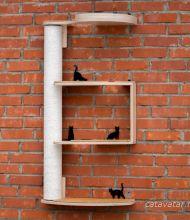 Комплекс для кошек, игровой комплекс для кошек, кошачья лазилка